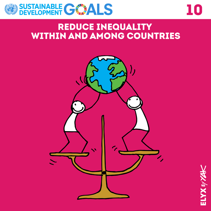 SDG 10 Reduced Inequalities